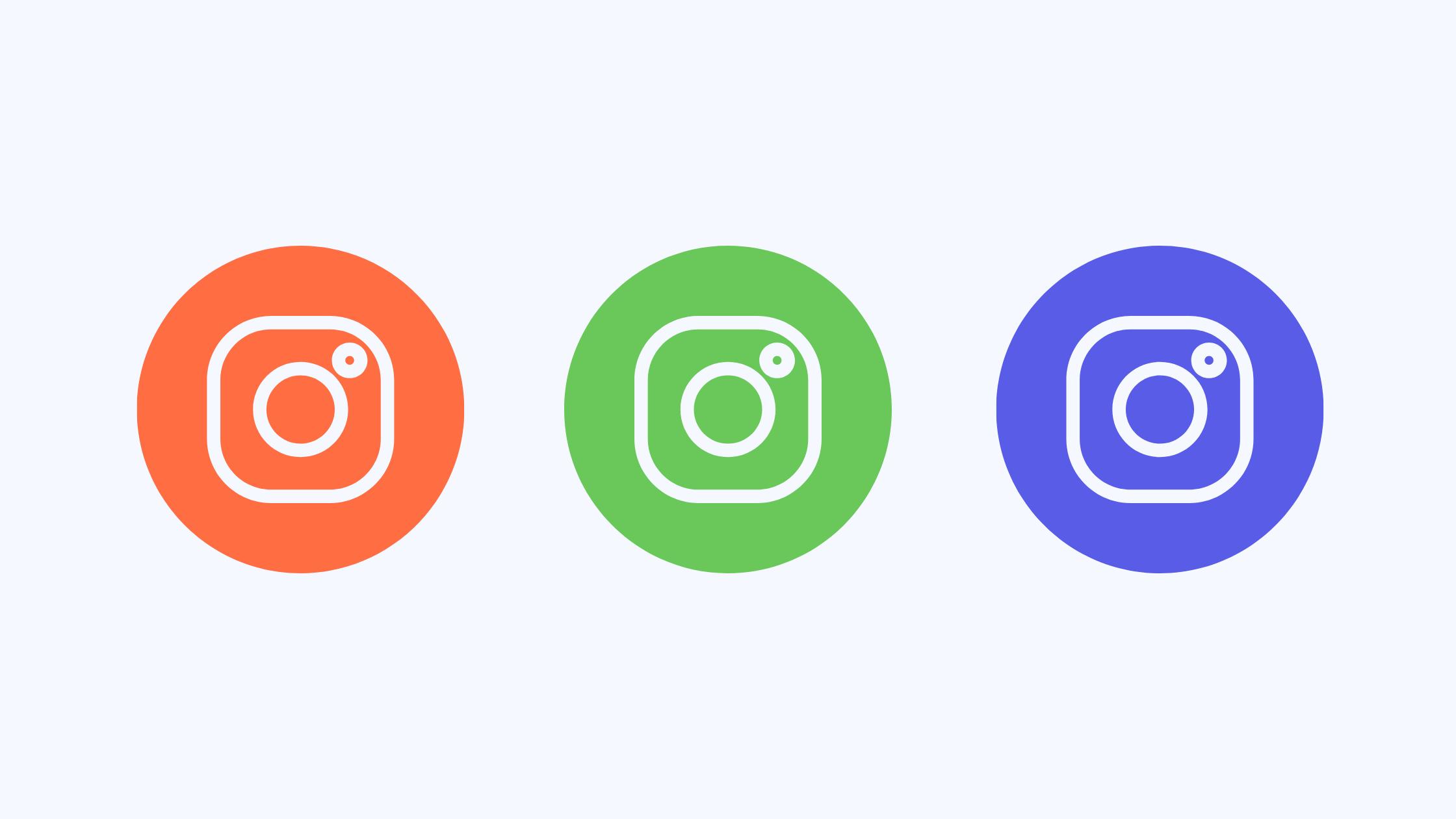 build an instagram portfolio