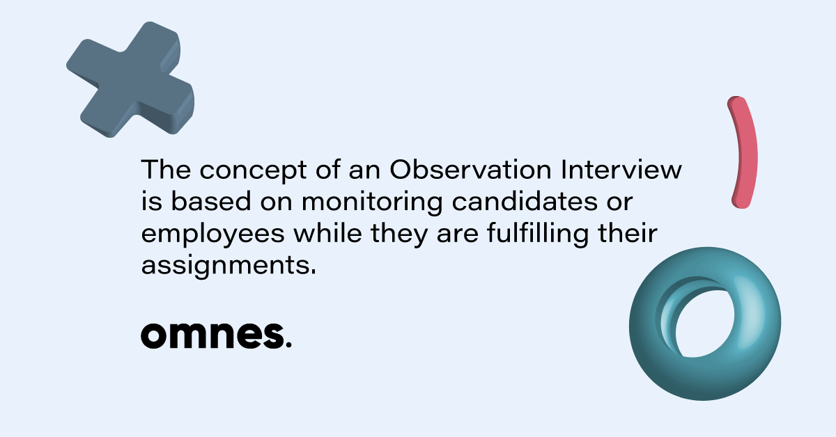 what is observation interview