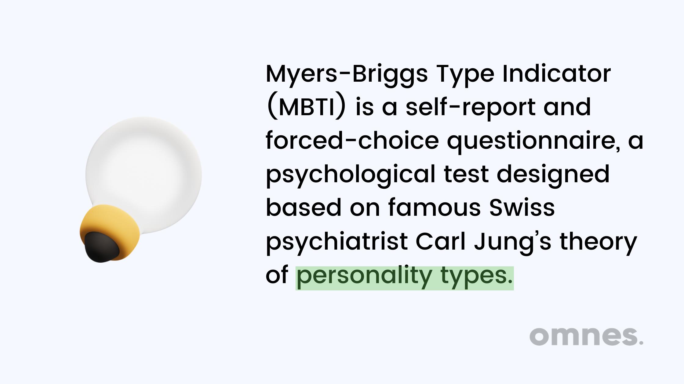 myers briggs type indicator