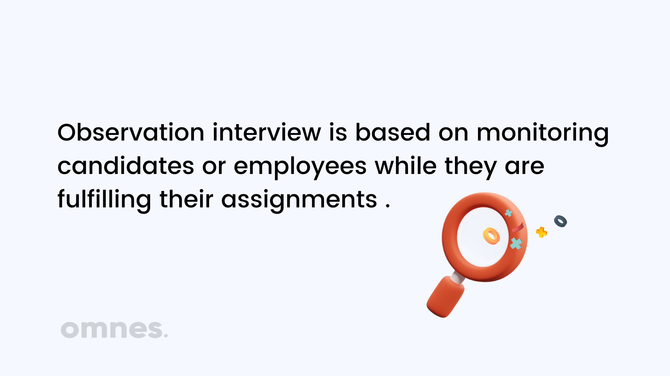 what is an observation interview