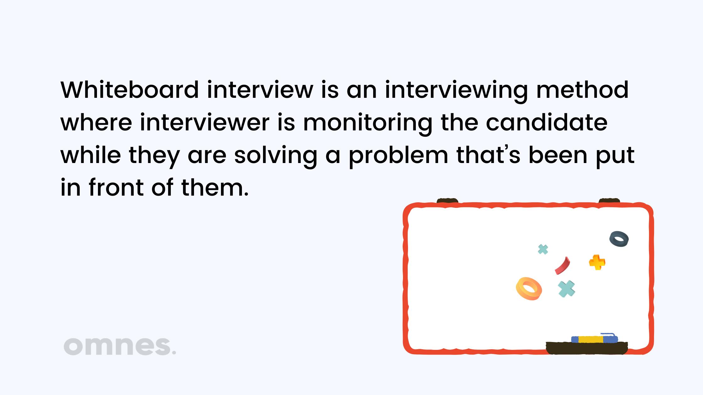 whiteboard interview