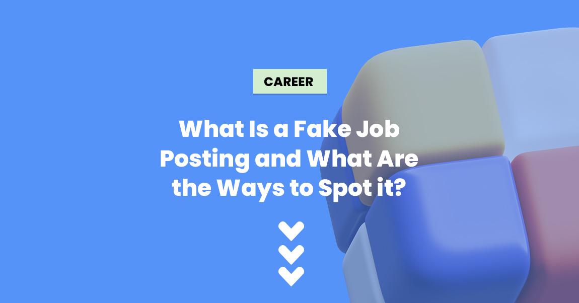 fake job posting