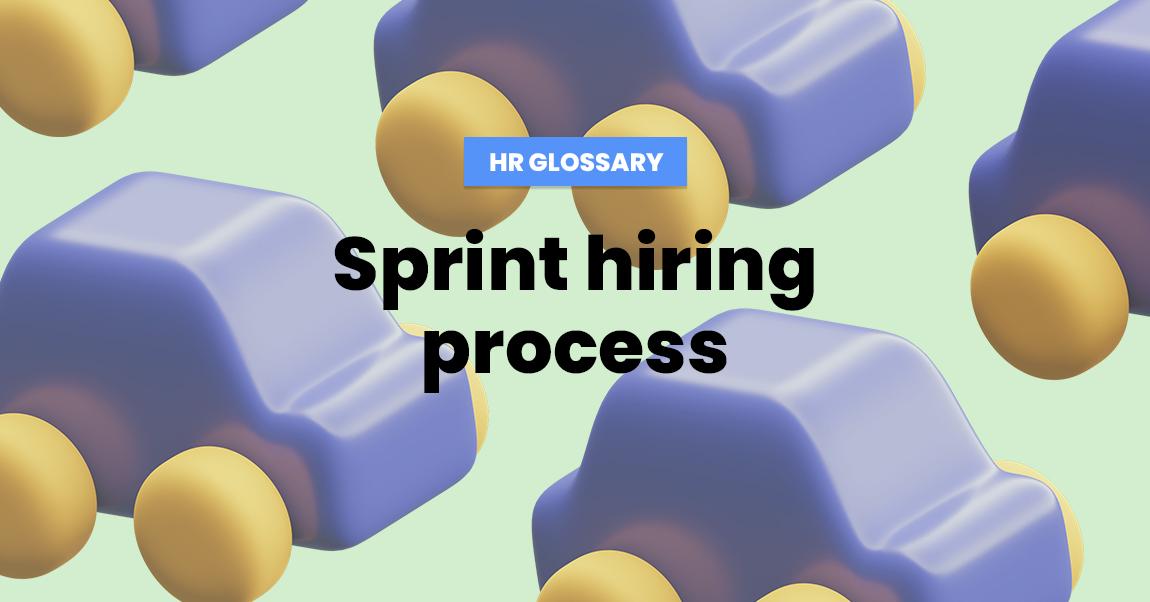 sprint hiring